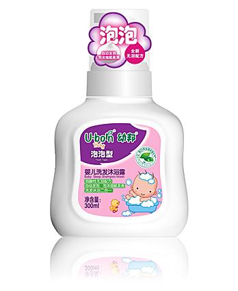 幼邦亚博泡泡洗发沐浴露