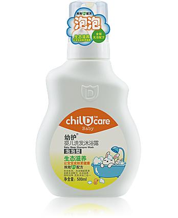 幼护C115 幼护亚博泡泡洗发沐浴露